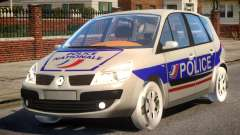 Renault Scenic II Police for GTA 4