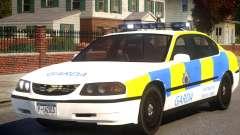 Chevrolet Impala Police for GTA 4