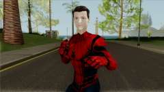 Spider-Man Homecoming Tom Holland Unmasked for GTA San Andreas