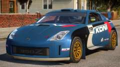 Nissan 350Z Rally Car DiRT2 for GTA 4