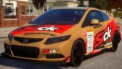 2013 Honda CivicSi PJ2 for GTA 4