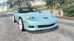 Chevrolet Corvette ZR1 (C6) 2008 v1.1 [replace] for GTA 5