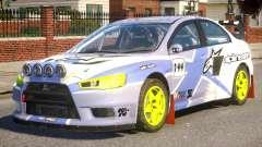 Mitsubishi Lancer EVOX PJ3 for GTA 4