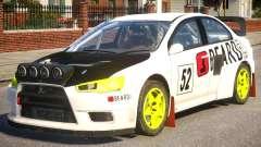 Mitsubishi Lancer EVOX PJ5 for GTA 4