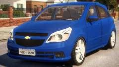 Chevrolet Agile LTZ for GTA 4