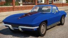 1967 Chevrolet Corvette Stingray V1.2 for GTA 4
