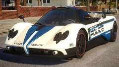 Pagani Zonda Cinque COP for GTA 4