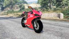 Ducati 1299 Panigale S 2015 v1.2 [replace] for GTA 5