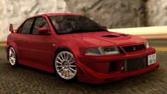 Mitsubishi Lancer Evolution VI for GTA San Andreas