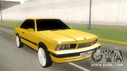 BMW 5-er E28 RUS Plates for GTA San Andreas