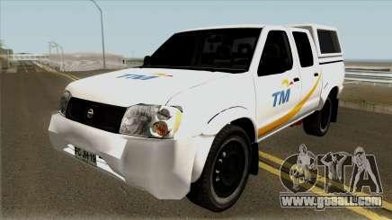 Nissan Navara Pickup Telekom Malaysia for GTA San Andreas