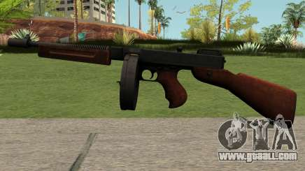 Chicago Typewriter M1928 for GTA San Andreas