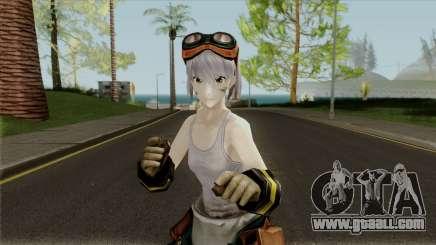 Gods Eater: Ressurection - Licca Kusunoki for GTA San Andreas