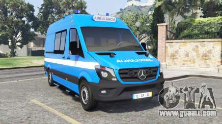 Mercedes-Benz Sprinter Ambulance [add-on] for GTA 5
