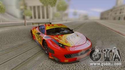 2014 Ferrari 458 Italia GT3 DTM for GTA San Andreas