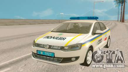 Volkswagen Polo (Ukraine) for GTA San Andreas