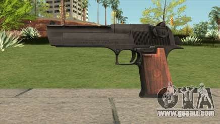 Desert Eagle Black for GTA San Andreas