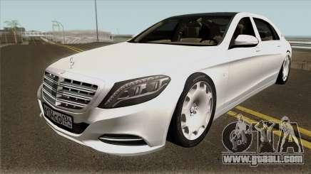 Mercedes-Benz Maybach X222 for GTA San Andreas