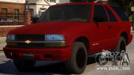 Chevrolet Blazer V1.1 for GTA 4
