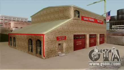 New Fire House in SF for GTA San Andreas