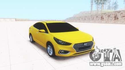 Hyundai Accent (Solaris) 2018 for GTA San Andreas