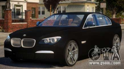 BMW 750i for GTA 4