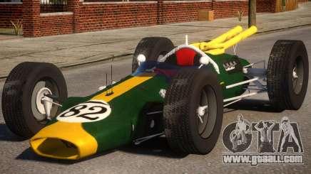 Lotus 38 PJ for GTA 4