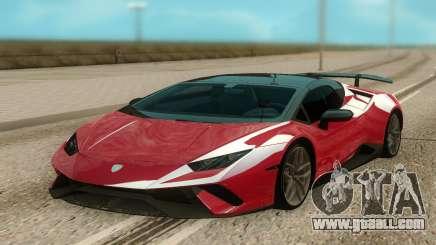 Lamborghini Huracan Perfomante Spyder for GTA San Andreas