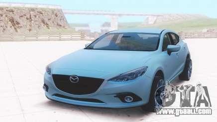 Mazda 3 2016 for GTA San Andreas
