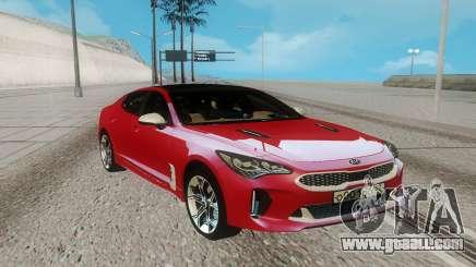 Kia Stinger for GTA San Andreas