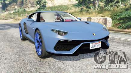 Lamborghini Asterion LPI 910-4 v1.1 [replace] for GTA 5
