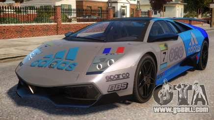 Lamborghini GT3 CUP Addidas Team for GTA 4