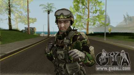 Bulgarian Land Forces (Dsher) for GTA San Andreas