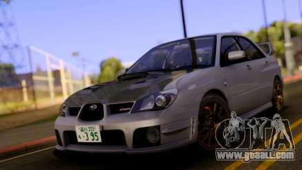 Subaru Impreza WRX STI S204 for GTA San Andreas