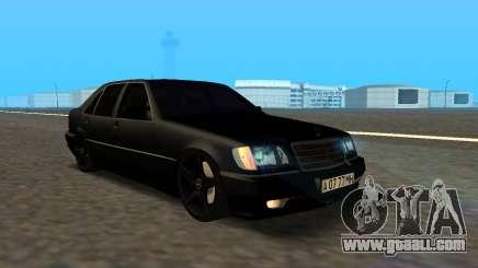 Mercedes-Benz S600 From Brigada for GTA San Andreas