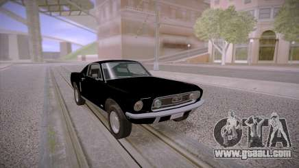 Ford Mustang GT Fastback 390 1968 for GTA San Andreas