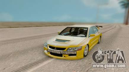 Mitsubishi Evolution 9 for GTA San Andreas