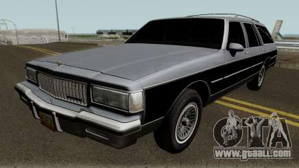 Chevrolet Caprice Hearse 1989 for GTA San Andreas