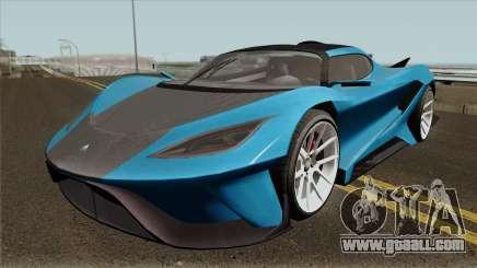 Overflod Tyrant GTA V IVF for GTA San Andreas