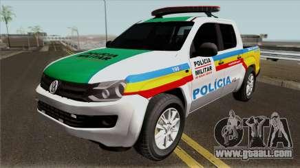 Volkswagen Amarok PMMG IVF for GTA San Andreas