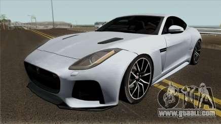 Jaguar F-Type SVR for GTA San Andreas