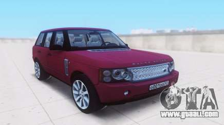 Land Rover Range Rover Vogue Supercharged 2007 for GTA San Andreas
