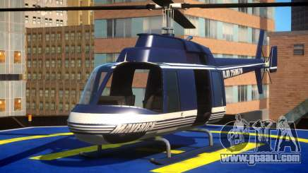 Police Helicopter New York for GTA 4