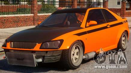 Sultan RS to Subaru Impreza STI for GTA 4