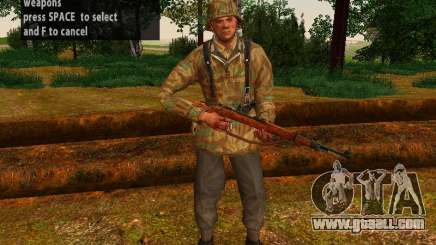 The Soldiers Of The Wehrmacht for GTA San Andreas
