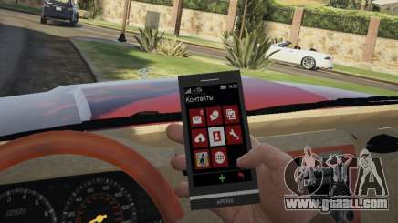 Sony XPERIA Z1 Trevor for GTA 5
