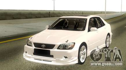 Toyota Altezza Stock for GTA San Andreas