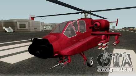 FH-1 Hunter for GTA San Andreas