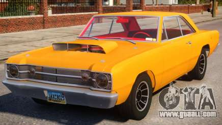 1968 Dodge Dart V1.3 for GTA 4