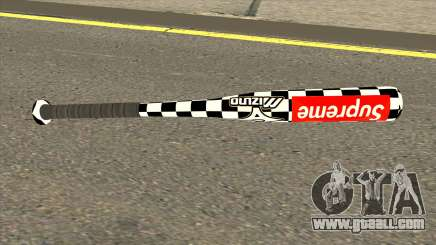 Supreme Baseball Bat for GTA San Andreas